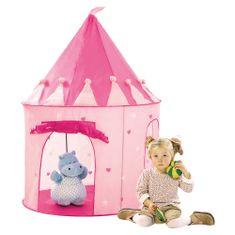 Bino Namiot dziecięcy - Zamek różowy