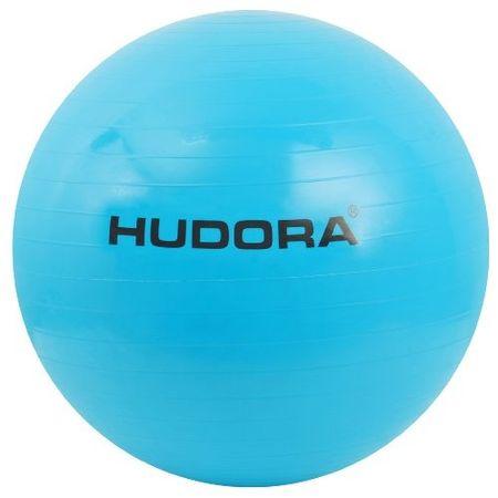 Hudora gimnastična žoga, turkizna, 75 cm - Odprta embalaža