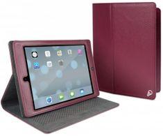 Cygnett zaščitni etui s pokrovom Archive za iPad Air, CY1333CIARC, bordo rdeče barve