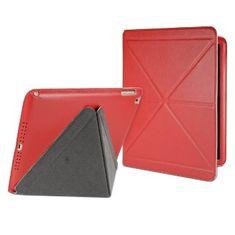 Cygnett zaščitni etui z zložljivim pokrovom PARADOX LUX za iPad Air, CY1328CIPLU, rdeče barve