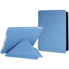 Cygnett zaščitni etui z zložljivim pokrovom PARADOX TEXTURE za iPad Air, CY1326CIPTE, modre barve