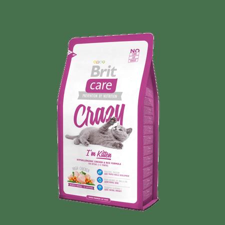 Brit Care Cat Crazy I´m Kitten hrana za mlade mucke, 7 kg