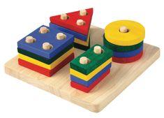 Plan Toys Plošča z geometrijskimi oblikami