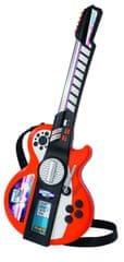 SIMBA Elektronikus gitár MP3 csatlakozóval Gyerek hangszer