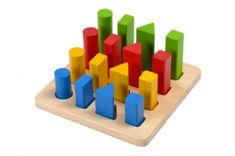 Plan Toys Razvrščanje oblik in velikosti