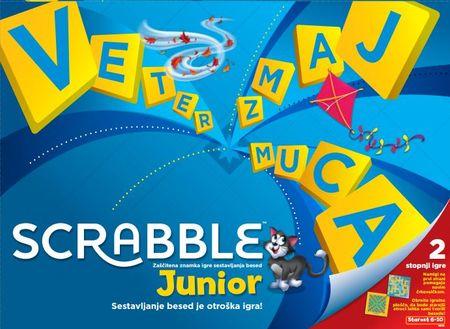 Mattel Scrabble Original Junior igra (Y9739)