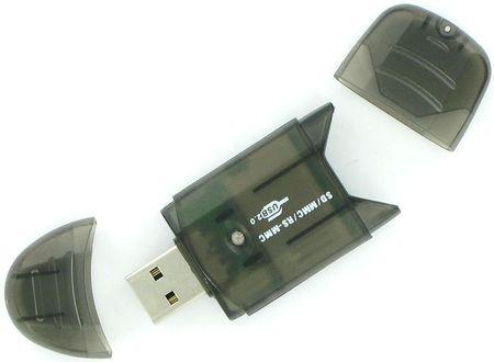 4World SDHC Hordozható kártyaolvasó USB csatlakozóval