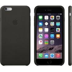 Apple Kožený kryt iPhone 6s, černý - rozbaleno