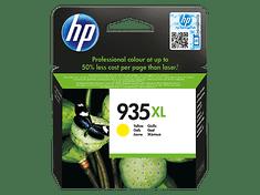HP 935 XL žlutá (C2P26AE)