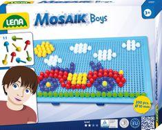 LENA Mozaik kirakó fiúknak Kreatív játék