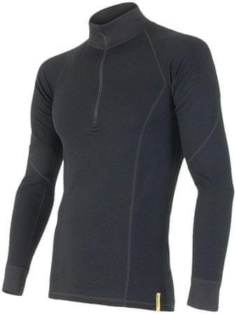 Sensor koszulka termoaktywna z długim rękawem Double Face Merino Wool M Black M