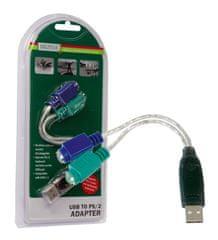Digitus Adapter 1 x USB - 2 x PS/2