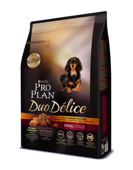 Purina Pro Plan DUO DELICE Small & Mini ADULT kuře 2,5 kg