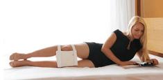 Sissel ortopedski pripomoček za noge Medi Support, bel