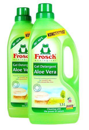 Frosch EKO Aloe Vera mosógél érzékeny bőrre, 2x1,5 l
