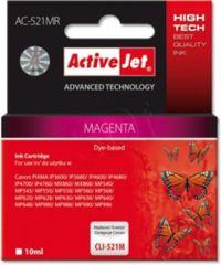 ActiveJet magenta tinta Canon (CLI-521M)