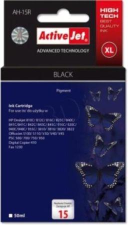 ActiveJet črna kartuša HP (C6615A 15)