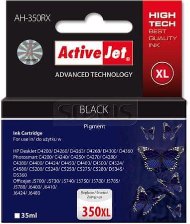ActiveJet črna kartuša HP CB336 350XL