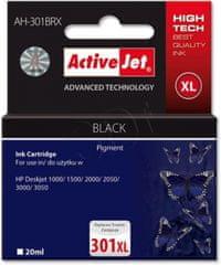 ActiveJet crna tinta HP CH563, 301XL
