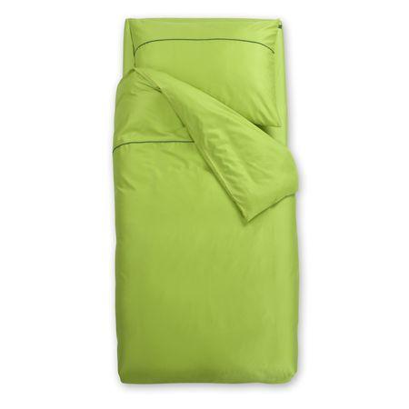 Odeja Basic N posteljnina, 200 x 260 zelena