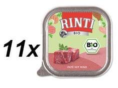 RINTI mokra karma dla psa Bio Wołowina - 11 x 150g