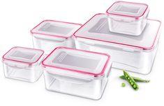 Lamart LT6001 5 darabos ételtároló doboz szett