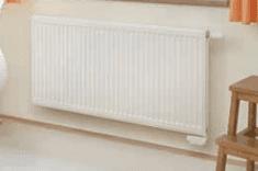 Korado radiator KV 11/600/1600, z vgrajenim ventilom