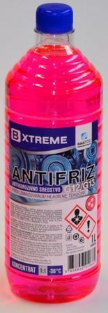 Bxtreme antifriz G12/G13, rdeči, 1 l
