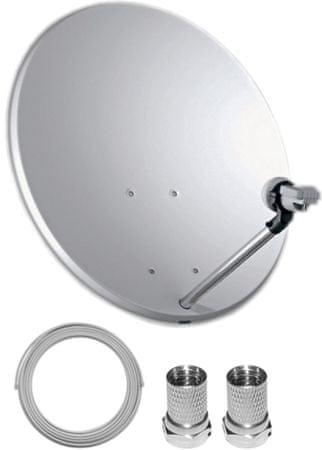 tele system satelitn set 60 cm lnb single mall cz. Black Bedroom Furniture Sets. Home Design Ideas