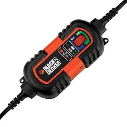 Black+Decker akumulatorski vzdrževalec in polnilec
