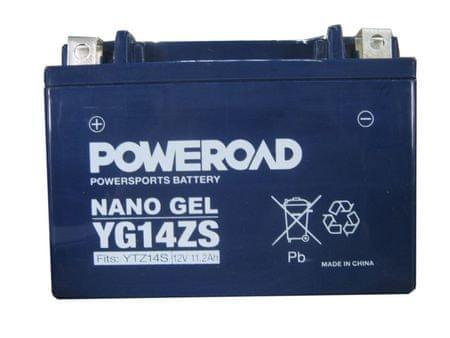 Yucell Poweroad akumulator za motor YG14ZS gel (12V 11.2Ah, 151 x 87 x 110)