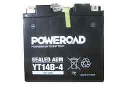 Akumulator za motor (Hermetični, 12V 12Ah) (YT14B-4)