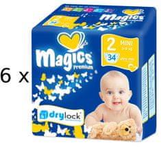 Magics Premium 2 Mini pelenka - 204 db