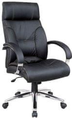 Hyle uredska stolica K-8868, crna