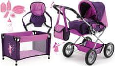 Bayer Design Kočík pre bábiky Combi Grande Set