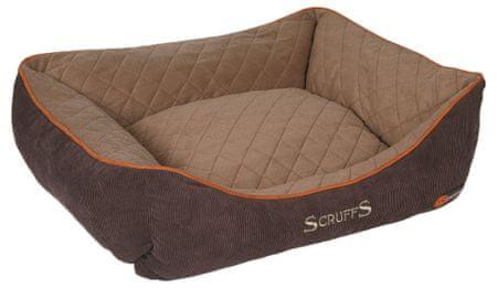 Scruffs Thermal Box Bed hnědý vel. M