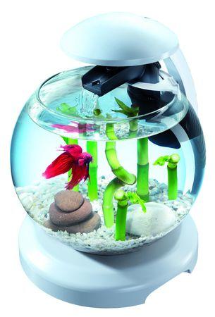 Tetra Akwarium zestaw - Cascade LED - biały 6,8 L