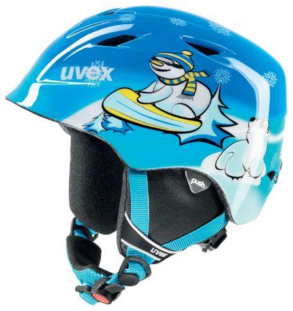 Uvex Airwing 2, blue snowman 46-50 - zánovní