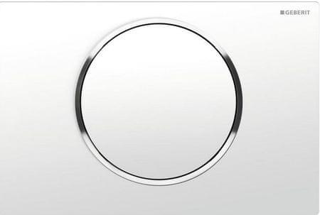 Geberit aktivna tipka Sigma 10 115.758.KJ5, bela-krom-bela