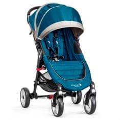 Baby Jogger City mini 4 kola tyrkysová - použité