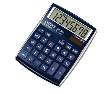 Citizen kalkulator CDC-80BLWB, moder