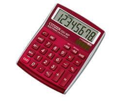 Citizen kalkulator CDC-80RDWB, vinsko rdeč
