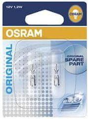 Osram žarulja 12V 1,2W staklena (W2x4,6d)