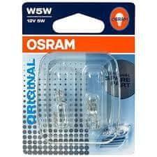 Osram žarulja 12V 5W 2,1x9,5d staklena