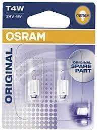 Osram žarnica 24V 4W Ba9s