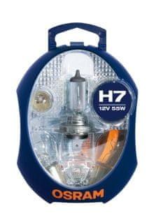 Osram set žarnic 12V H7