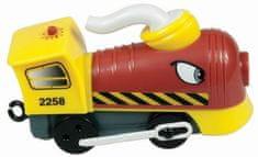 MEHANO parna lokomotiva E233 BL.1, rdeča