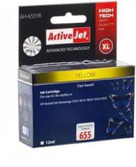 ActiveJet žuta tinta HP655