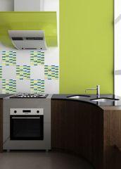 Crearreda zidna dekorativna naljepnica, mozaik ambient 3/1