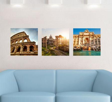 Crearreda stenska dekorativna nalepka, Rim